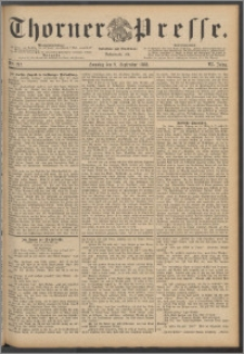 Thorner Presse 1888, Jg. VI, Nro. 212
