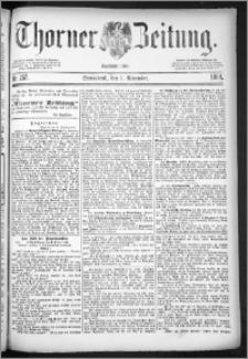 Thorner Zeitung 1884, Nro. 257