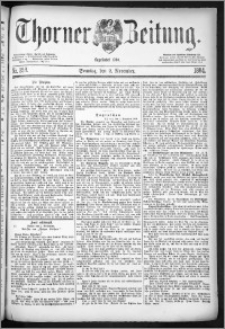 Thorner Zeitung 1884, Nro. 258 + Beilage