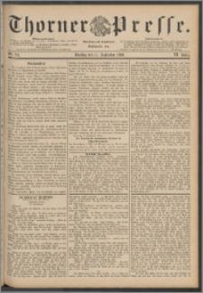 Thorner Presse 1888, Jg. VI, Nro. 213