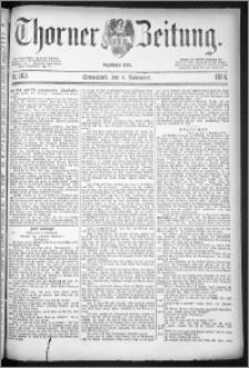 Thorner Zeitung 1884, Nro. 263