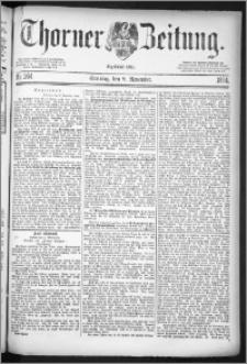 Thorner Zeitung 1884, Nro. 264 + Beilage
