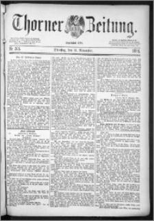 Thorner Zeitung 1884, Nro. 265