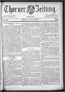 Thorner Zeitung 1884, Nro. 266