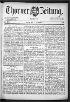 Thorner Zeitung 1884, Nro. 268