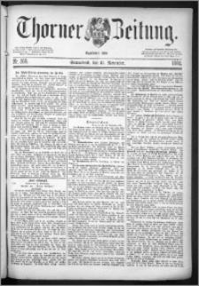 Thorner Zeitung 1884, Nro. 269
