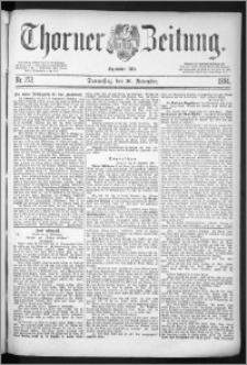 Thorner Zeitung 1884, Nro. 273