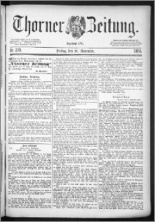 Thorner Zeitung 1884, Nro. 280