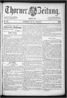 Thorner Zeitung 1884, Nro. 281