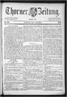 Thorner Zeitung 1884, Nro. 285 + Beilage