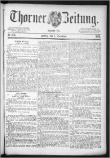 Thorner Zeitung 1884, Nro. 286