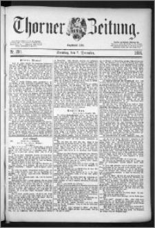 Thorner Zeitung 1884, Nro. 288 + Beilage