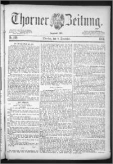 Thorner Zeitung 1884, Nro. 289