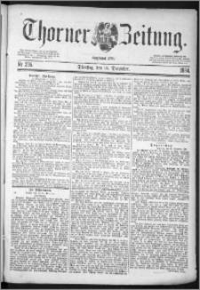 Thorner Zeitung 1884, Nro. 295