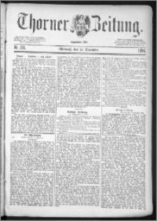 Thorner Zeitung 1884, Nro. 296 + Beilagenwerbung