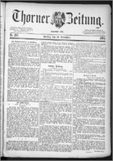 Thorner Zeitung 1884, Nro. 298