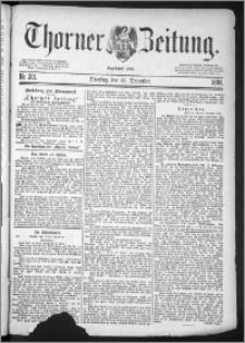 Thorner Zeitung 1884, Nro. 301