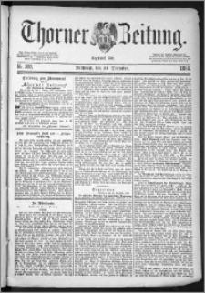 Thorner Zeitung 1884, Nro. 302