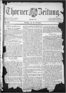 Thorner Zeitung 1884, Nro. 305