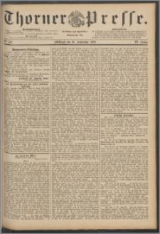 Thorner Presse 1888, Jg. VI, Nro. 226