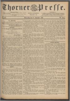 Thorner Presse 1888, Jg. VI, Nro. 227
