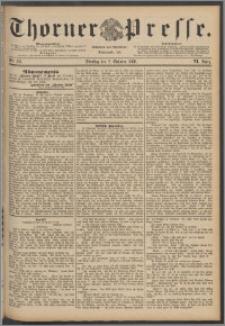 Thorner Presse 1888, Jg. VI, Nro. 231 + Extrablatt
