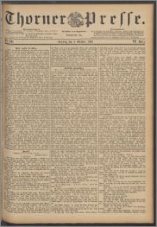 Thorner Presse 1888, Jg. VI, Nro. 236 + Beilage