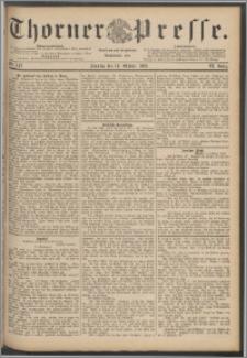 Thorner Presse 1888, Jg. VI, Nro. 242 + Beilage