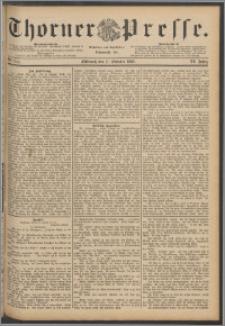 Thorner Presse 1888, Jg. VI, Nro. 244 + Extrablatt