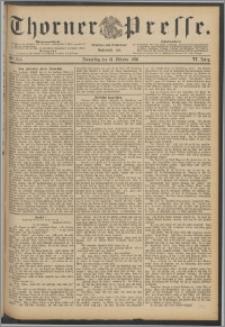 Thorner Presse 1888, Jg. VI, Nro. 245 + Beilagenwerbung