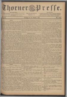 Thorner Presse 1888, Jg. VI, Nro. 249 + Extrablatt