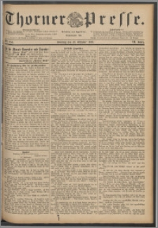 Thorner Presse 1888, Jg. VI, Nro. 254 + Beilage