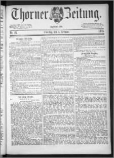 Thorner Zeitung 1885, Nro. 28