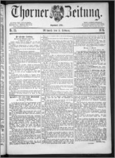 Thorner Zeitung 1885, Nro. 35