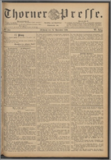 Thorner Presse 1888, Jg. VI, Nro. 280