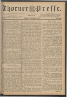 Thorner Presse 1888, Jg. VI, Nro. 285