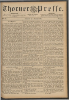 Thorner Presse 1888, Jg. VI, Nro. 289