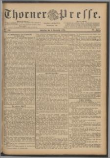 Thorner Presse 1888, Jg. VI, Nro. 290 + Beilage, Beilagenwerbung
