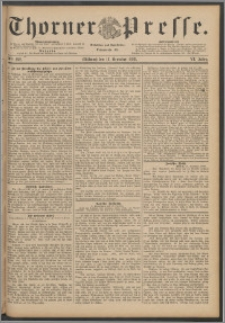 Thorner Presse 1888, Jg. VI, Nro. 292 + Beilage