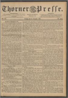 Thorner Presse 1888, Jg. VI, Nro. 303 + Beilage, Kalender