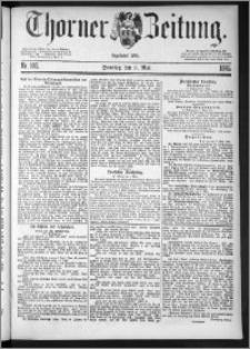 Thorner Zeitung 1885, Nro. 102
