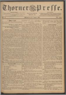 Thorner Presse 1889, Jg. VII, Nro. 25