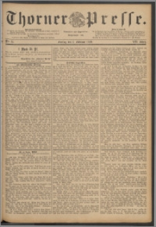 Thorner Presse 1889, Jg. VII, Nro. 27