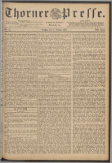 Thorner Presse 1889, Jg. VII, Nro. 30