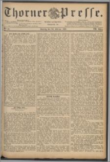 Thorner Presse 1889, Jg. VII, Nro. 47 + Beilage