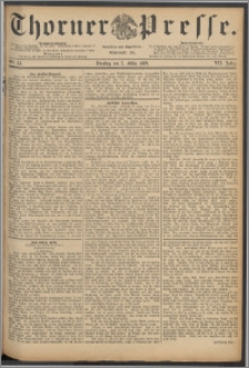 Thorner Presse 1889, Jg. VII, Nro. 54