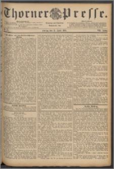 Thorner Presse 1889, Jg. VII, Nro. 87