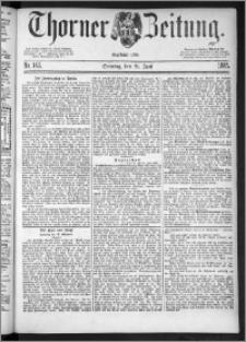 Thorner Zeitung 1885, Nro. 142 + Beilage