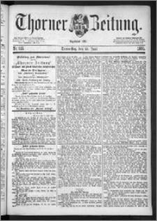 Thorner Zeitung 1885, Nro. 145
