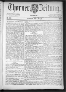 Thorner Zeitung 1885, Nro. 183